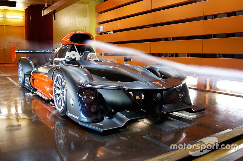 GreenGT H2 in the wind tunnel