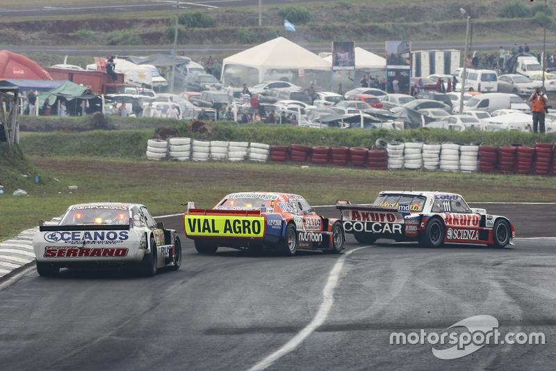 Juan Manuel Silva, Catalan Magni Motorsport Ford dan Jonatan Castellano, Castellano Power Team Dodge dan Martin Serrano, Coiro Dole Racing Dodge
