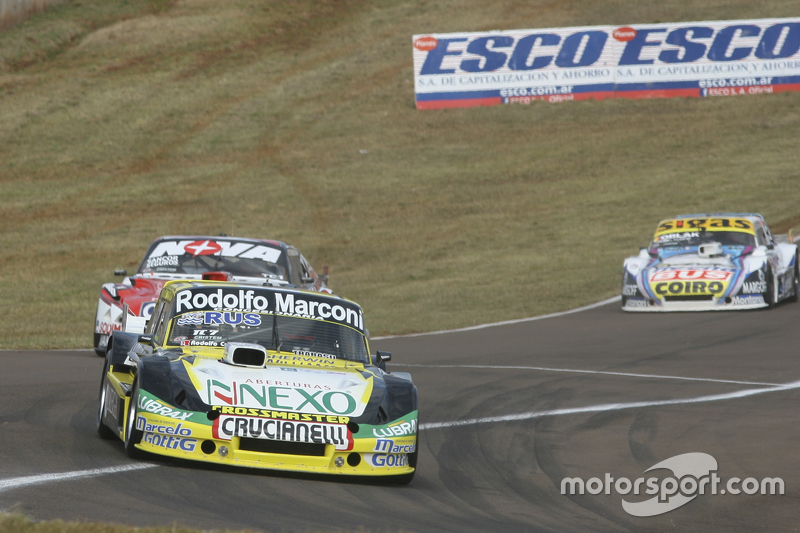 Omar Martinez, Martinez Competicion, Ford; Matias Rossi, Donto Racing, Chevrolet, und Mauricio Lambi