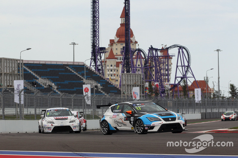 Michel Nykjaer, SEAT Leon, Target Competition ve Tomas Engstrom, SEAT Leon, Liqui Moly Engstler Takı