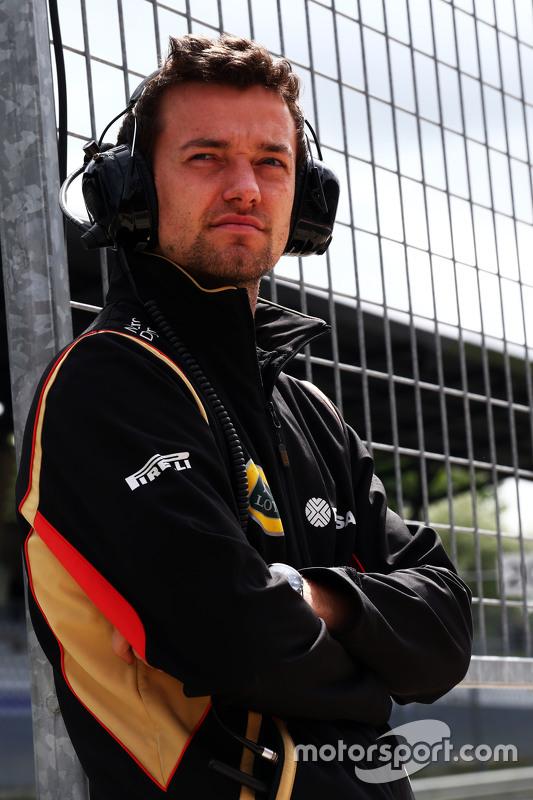 Jolyon Palmer, piloto de testes e reserva da Lotus F1 Team
