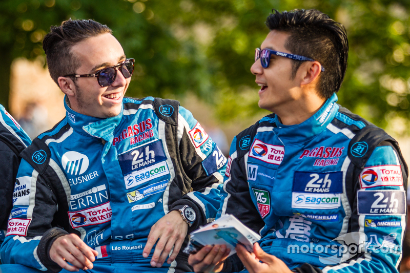 #29 Pegasus Racing, Morgan LM P2: Leo Roussel und Ho-Pin Tung
