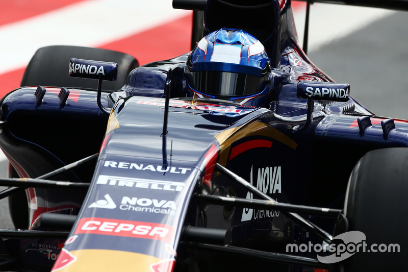 Marco Wittmann, Scuderia Toro Rosso STR10 Piloto de pruebas at ...