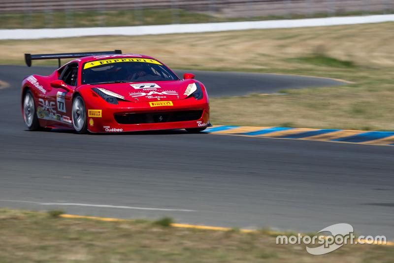 #77 Ferrari Quebec Ferrari 458: Еммануель Анассіс