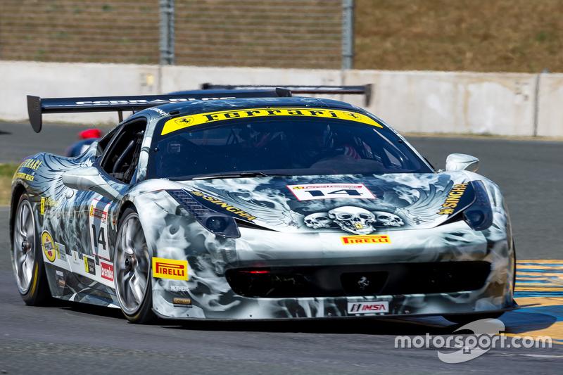 #14 Ferrari of Newport Beach, Ferrari 458: Brent Lawrence