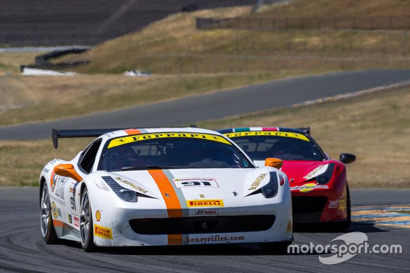 #91 Ferrari of Long Island, Ferrari 458: Anthony Imperato