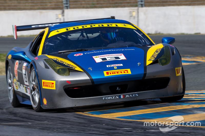 #13 Ferrari of Ontario, Ferrari 458: Marc Muzzo