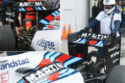 Williams new wing, з old wing inset photo