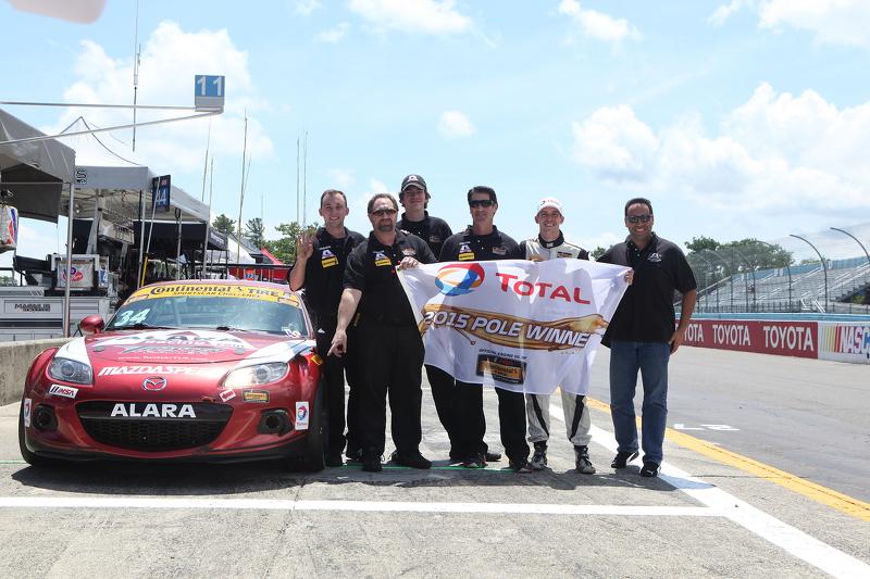 ST polesitter: #34 Alara Racing Mazda MX-5: Christian Szymczak, Justin Piscitell
