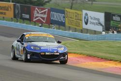 #5 CJ Wilson Racing, Mazda MX-5: Stevan McAleer, Chad McCumbee