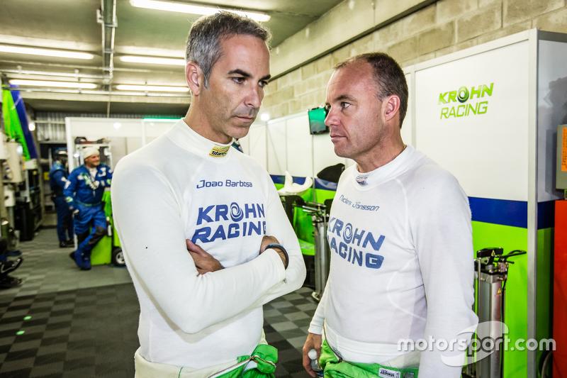 #40 Krohn Racing, Ligier JS P2: Joao Barbosa und Nic Jonsson
