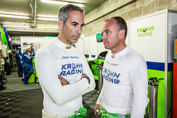 #40 Krohn Racing Ligier JS P2: Joao Barbosa and Nic Jonsson