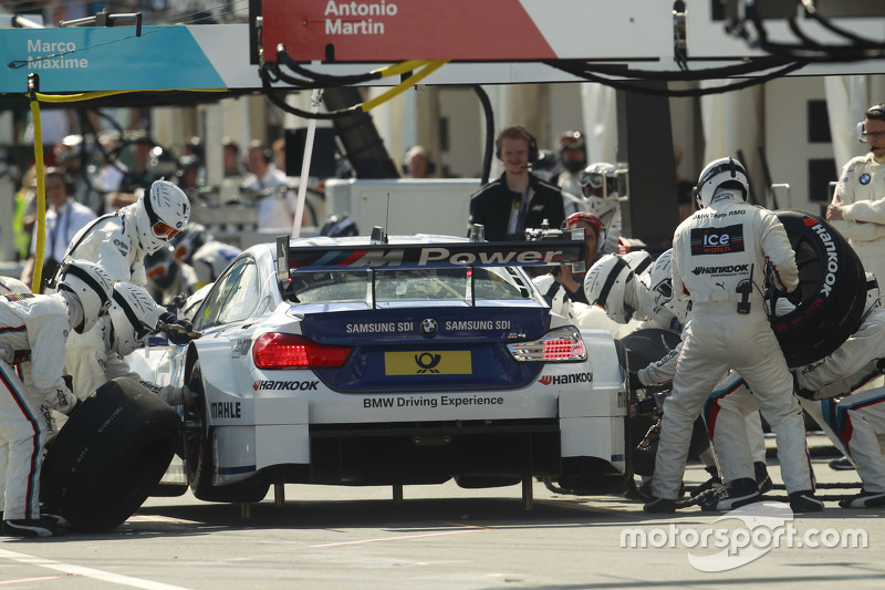 Pitstop, Maxime Martin, BMW Team RMG BMW M4 DTM
