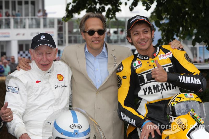 John Surtees, Valentino Rossi