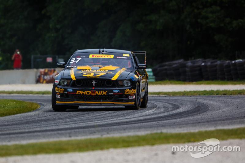 #37 Phoenix American Motorsports, Ford Mustang: Kurt Rezzetano