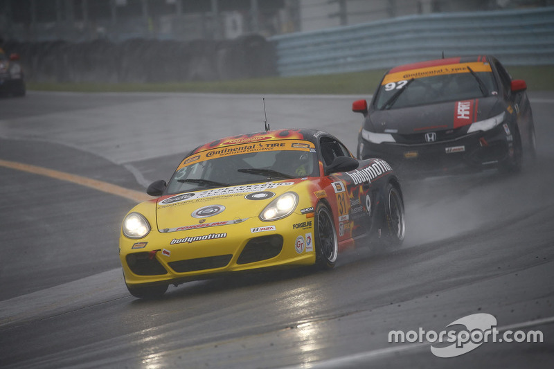 #31 Bodymotion Racing, Porsche Cayman: Ethan Low, Jason Rabe