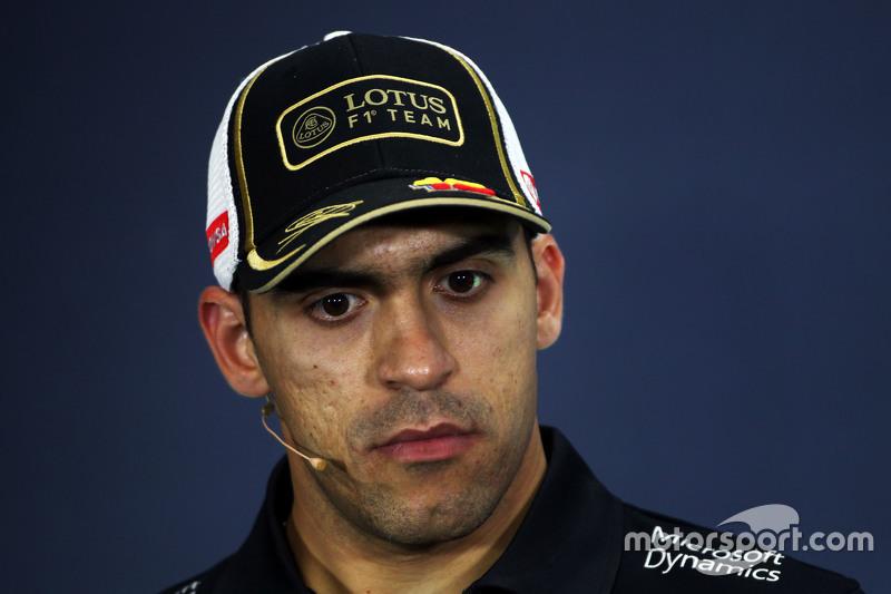 Pastor Maldonado, Lotus F1 Team di FIA Press Conference