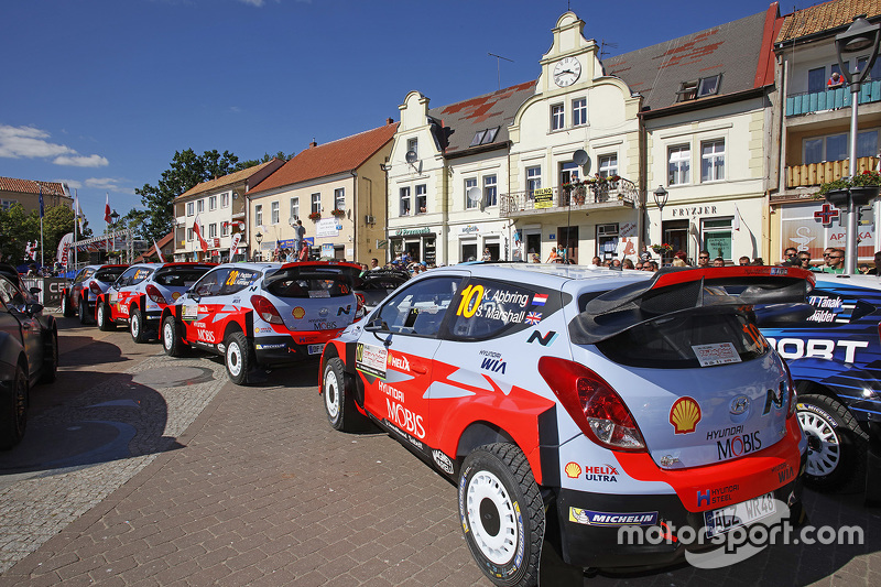Hyundai Motorsport entries