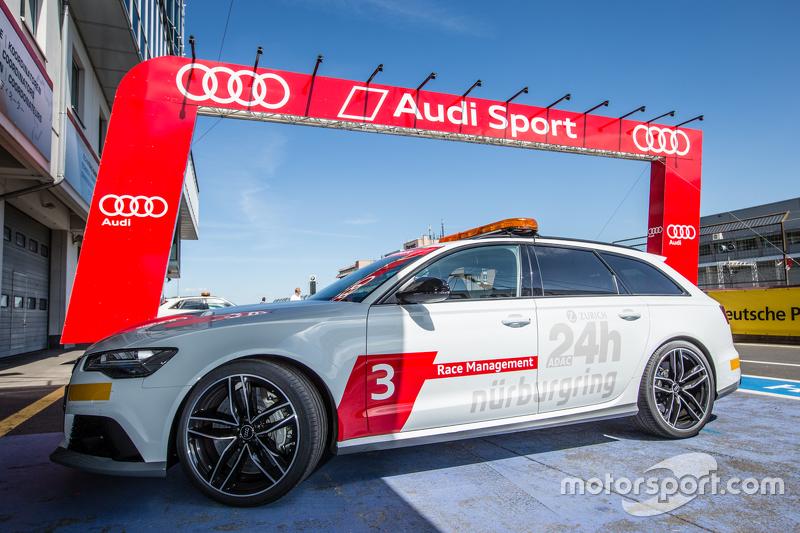 Audi-Auto der Rennleitung