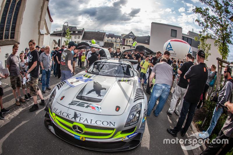 #2 Black Falcon, Mercedes-Benz SLS AMG GT3