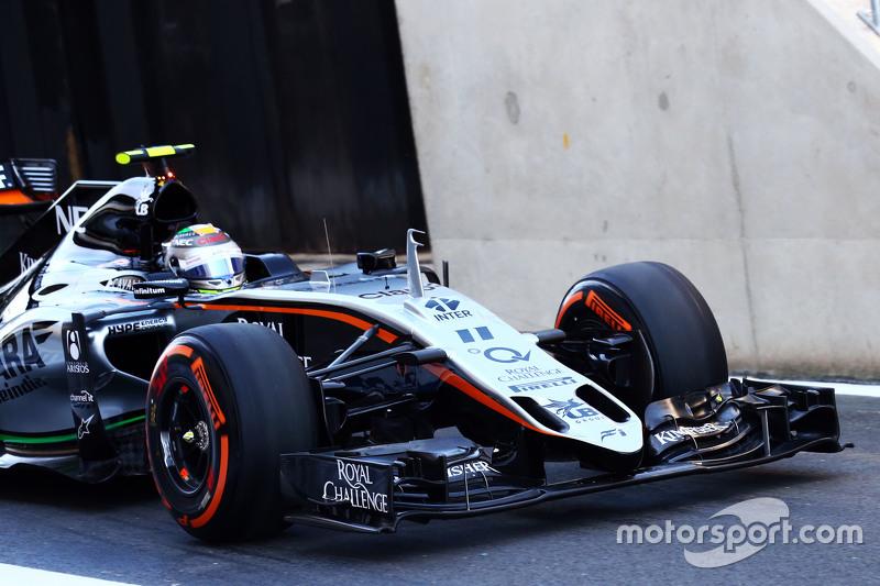 Sergio Perez, Sahara Force India F1 VJM08, Frontflügel