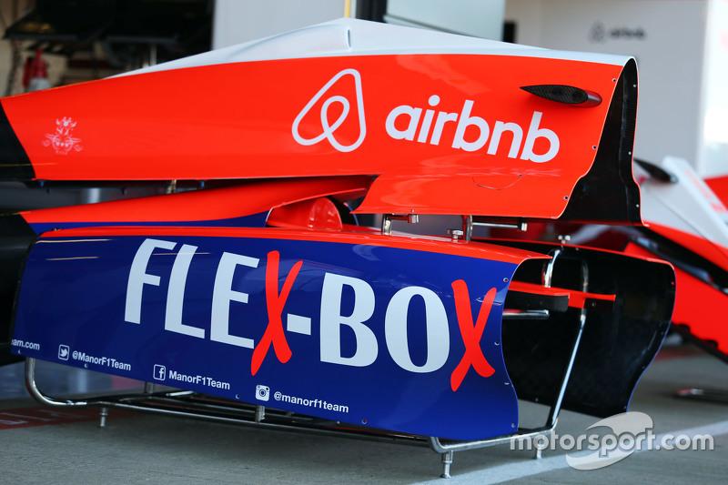 Manor F1 Team, Motorhaube