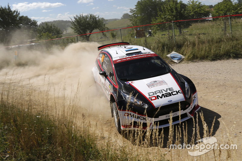 Sander Parn, dan James Morgan, Ford Fiesta R5