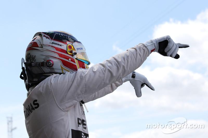 Celebrando la 46ª en casa, en Silverstone 2015