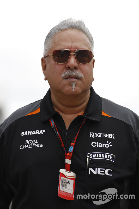 Dr. Vijay Mallya, Titolare Sahara Force India F1 Team