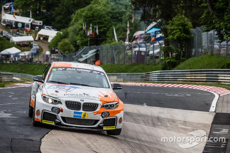 #304 BMW M235i Racing: David Ackermann, Jörg Wiskirchen, Carsten Welschar, Csaba Walter