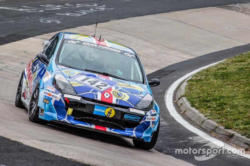 #142 Schläppi Race-Tec, Renault Clio SRT: Holger Goedicke, Fabian Danz, Axel Friedhoff, Max Friedhoff