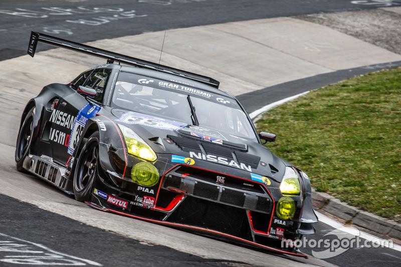 #35 Nissan GT Academy, Nissan GT-R Nismo GT3: Alex Buncombe, Kazuki Hoshino, Michael Krumm, Lucas Ordonez