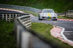 #161 Black Falcon Porsche 911 Carrera: Sören Spreng, Aurel Schoeller, Christian Raubach