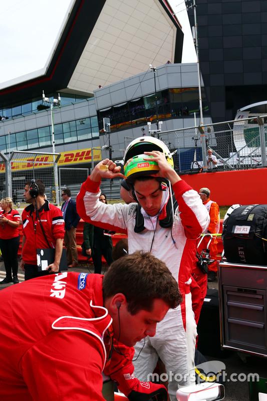 Roberto Merhi, Manor F1 Team on the grid