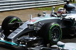 Lewis Hamilton, Mercedes AMG F1.