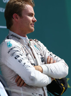 2nd place Nico Rosberg, Mercedes AMG F1 W06.