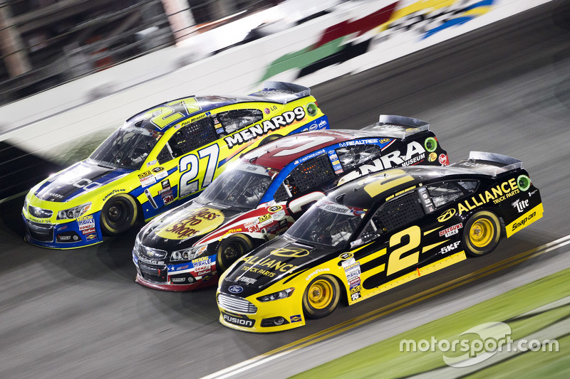 Paul Menard, Richard Childress Racing Chevrolet, Austin Dillon, Richard Childress Racing Chevrolet,