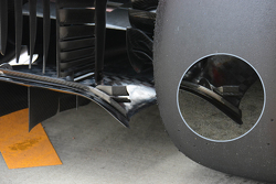 Technische analyse: Ferrari diffuser