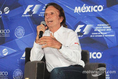 Emerson Fittipaldi al Gran Premio del Messico
