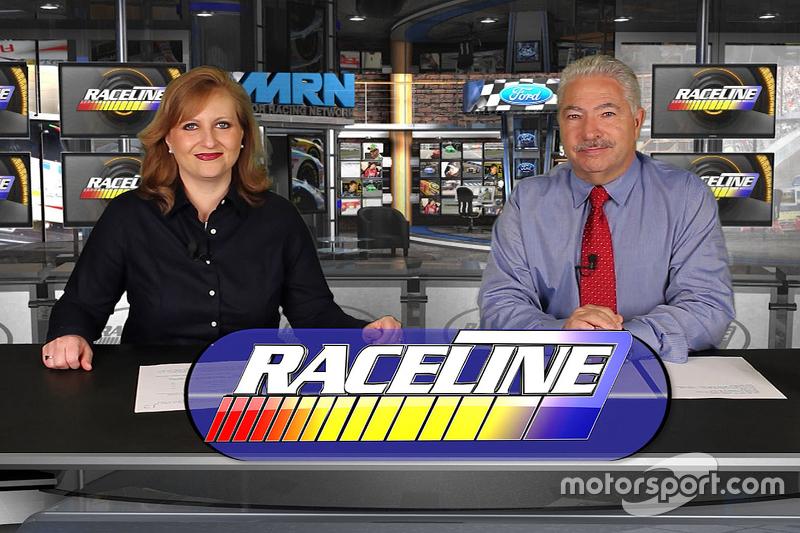 On the set of Raceline з Tiffany Ricardo та Joe Moore