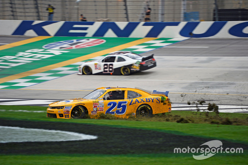 John Wes Townley, Athenia Motorsports Chevrolet in trouble