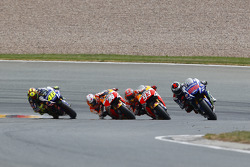 Хорхе Лоренсо, Yamaha Factory Racing, Марк Маркес и Дани Педроса, Repsol Honda Team и Валентино Росс