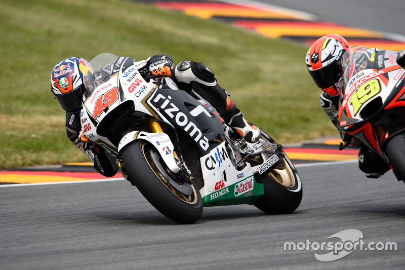 Jack Miller, Team LCR Honda and Alvaro Bautista, Aprilia Racing Team Gresini