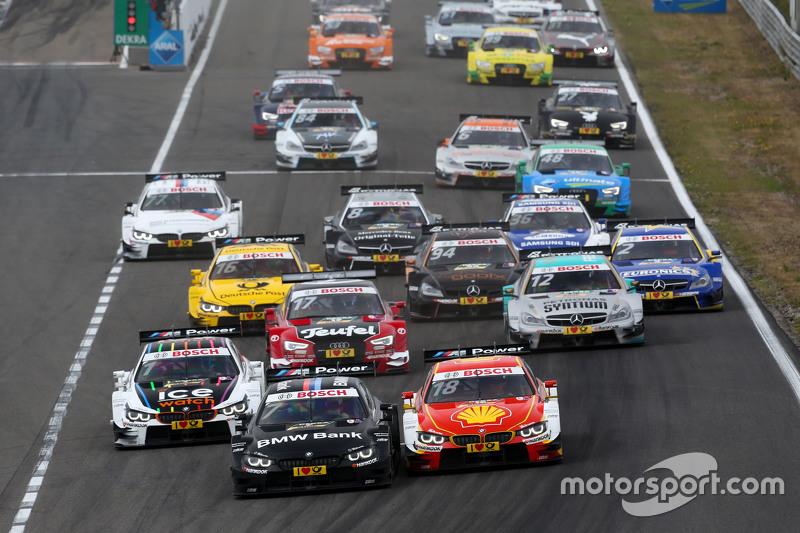 Бруно Спенглер, BMW Team MTEK BMW M4 DTM та Augusto Farfus, BMW Team RBM BMW M4 DTM
