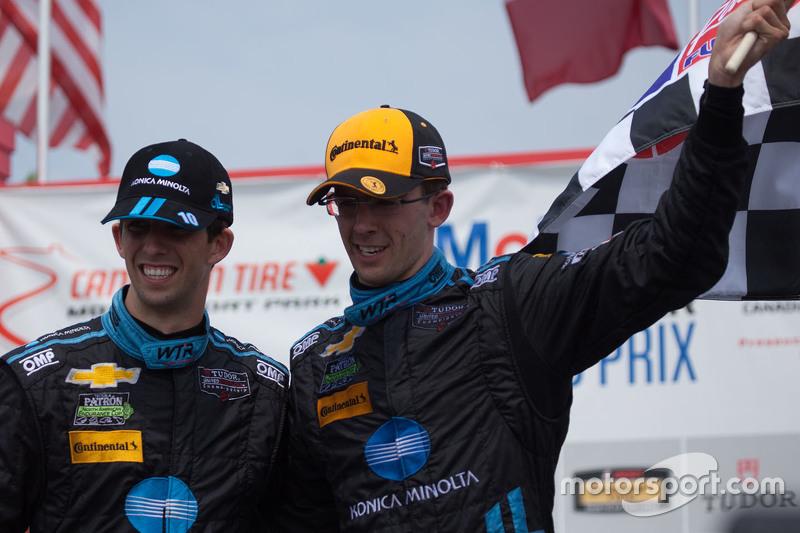 Race winner #10 Wayne Taylor Racing Corvette DP: Ricky Taylor, Jordan Taylor