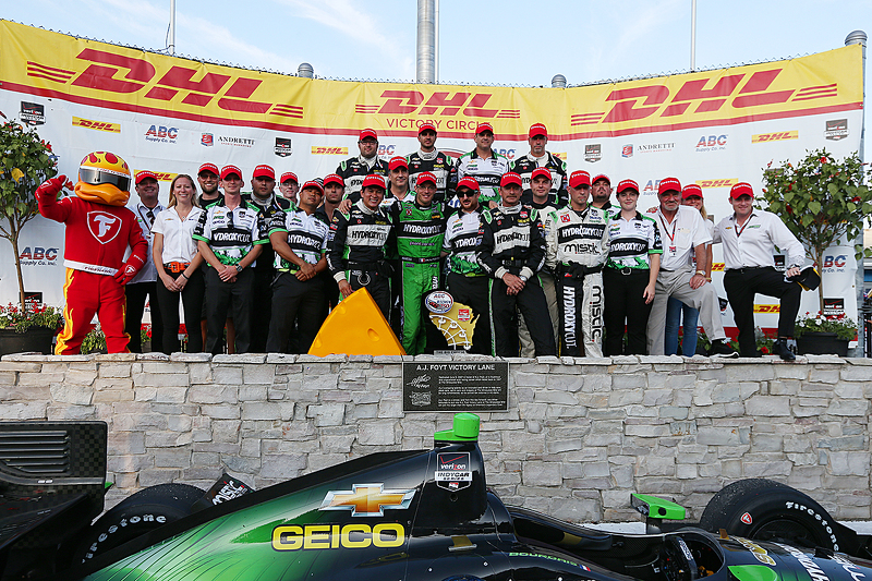 Juara balapan Sébastien Bourdais, KV Racing Technology Chevrolet