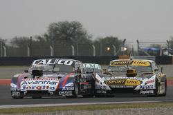 Emanuel Moriatis, Alifraco Sport Ford and Leonel Pernia, Las Toscas Racing Chevrolet
