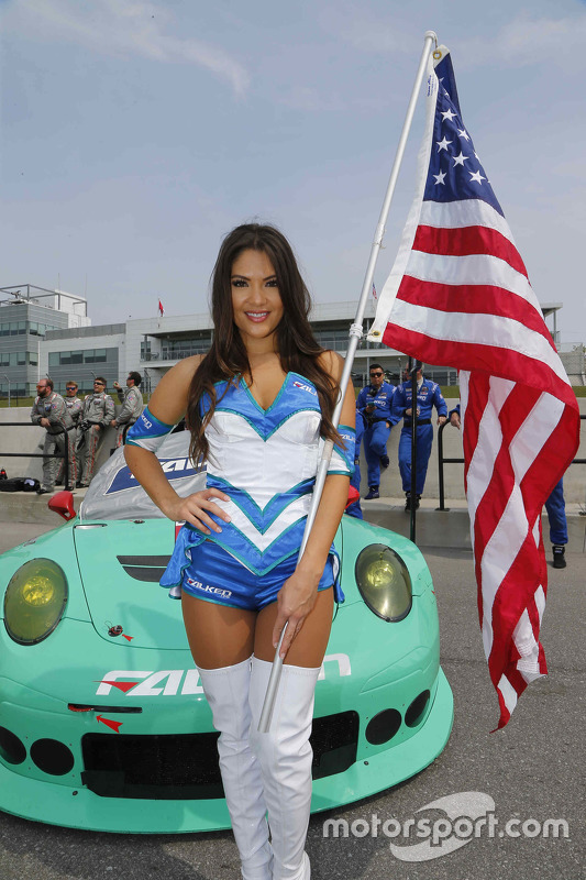 Lovely Falken Tire girl