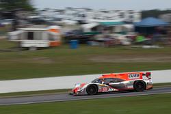 #60 Michael Shank Racing with Curb/Agajanian Ligier JS P2 Honda: John Pew, Oswaldo Negri Jr.