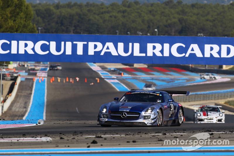 #30 Ram Racing Mercedes SLS AMG GT3: Tom Onslow-Cole, Paul White, Thomas Jäger, Adam Christodoulou